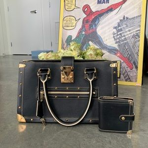 Louis Vuitton Suhali Leather Le Fabuleux BlackTote